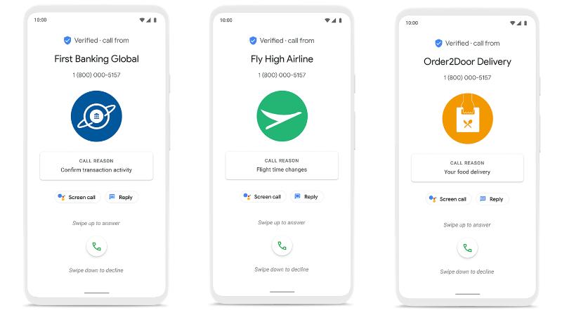 Google Verified Calls By Google