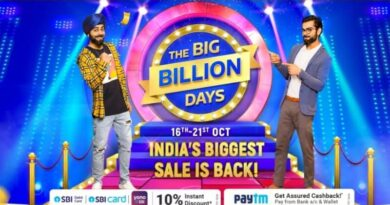 Flipkart Big Billion Days Sale 2020